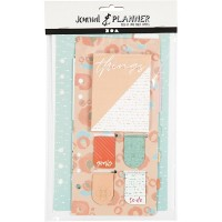 Sticky notes en bladwijzer set oranje