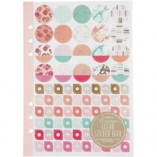 Stickerboek voor planners oranje