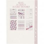 Stickerboek voor planners paars