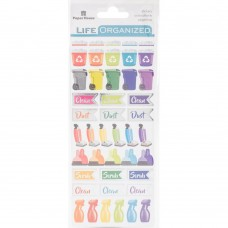 Life Organized Functional stickers - Cleaning