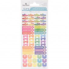 Life Organized Functional stickers - Fitness