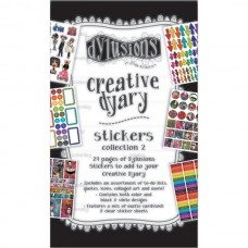 Creative Dyary stickerbook - deel 2