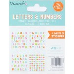 Stickerboekje Letters and Numbers