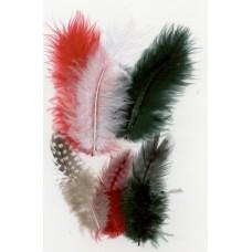 Verenmix rood wit groen