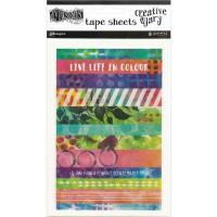 Creative Dyary - Washi tape sheets