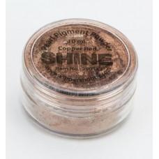 Shine powder Copper red