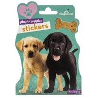 Playful Puppies stickers