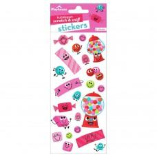 Bubblegum scratch & sniff stickers