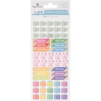 Life Organized Functional stickers - budget