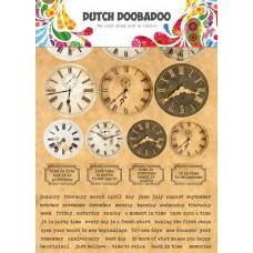 Sticker Art Clocks