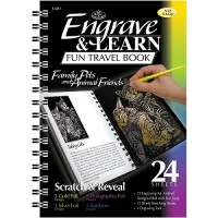 Engraving art travel book - Family Pets