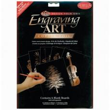 "Engraving art - blank boards 8"" x 10"" - copper"