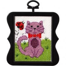 Borduur setje - Kitten