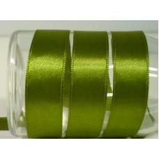 Satijnlint 15 mm groen