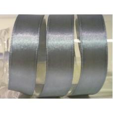 Satijnlint 15 mm grijsblauw