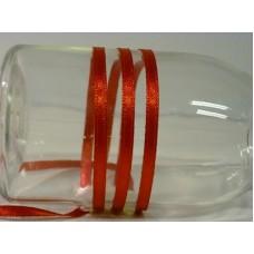 Satijnlint 4 mm rood