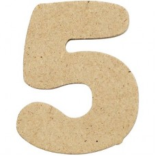 MDF cijfer 5