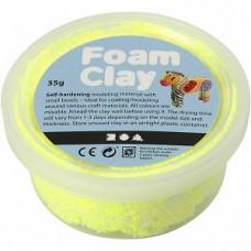 Foamclay neon geel