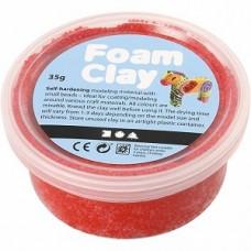 Foamclay rood