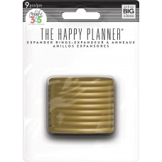 Expander rings - gold
