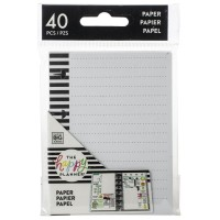Papier - tiny lined note paper