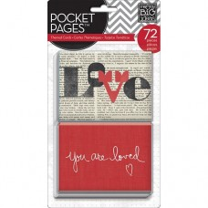 Pocket cards Themed - You are loved