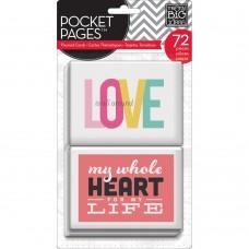 Pocket cards Themed - Love