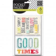 Pocket cards Embellished - Gratitude