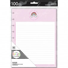 Block paper pad - Rainbow - classic