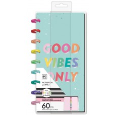 Happy notes - Good vibes only - half sheet classic