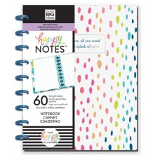 Happy notes - A little splash of color - classic