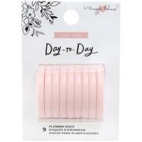 Discs medium - Blush pink
