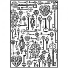 Rijstpapier A4 Keys