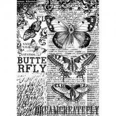 Rijstpapier A4 Butterfly