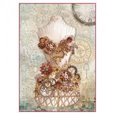 Rijstpapier A4 Clockwise Mannequin