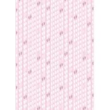 A4 papier roze met voetjes