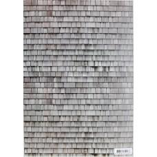 A4 papier dakpannen