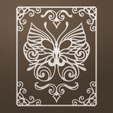 Snijmal Framed Butterfly Flourish set