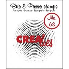 Clearstamp Bits & Pieces Grunge Cirkel
