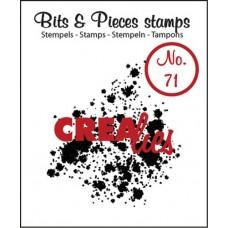 Clearstamp Bits & Pieces Ink Splash