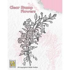 Clearstamp Boeket wilde bloemen 2
