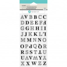 Clearstamp Alphabet Layers