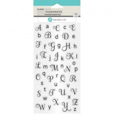 Clearstamp Alphabet