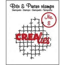 Clearstamp Bits & Pieces Broken mesh