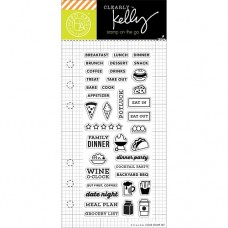 Clearstamp Food planner