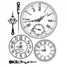 Clingstamp Clocks