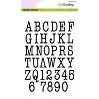 Clearstamp A5 Alphabet Typewriter - uppercase
