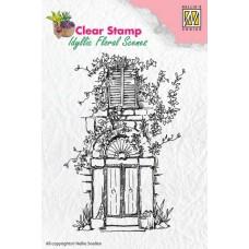 Clearstamp Boogdeur en raam