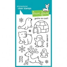 Clearstamp Critters in the Snow