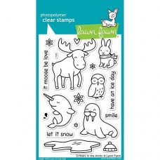 Clearstamp Critters in the Arctic